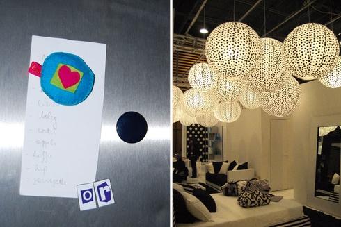Unieke magneten een compositie van rijstballen sfeervolle verlichting in dit dossier vind je - Salon decoratie ideeen ...