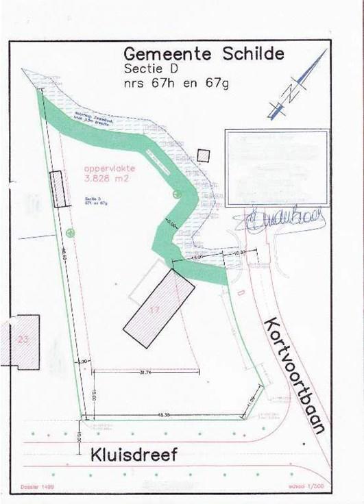 Terrain à bâtirte koop te's-Gravenwezel voor 575.000€ - (3541140)