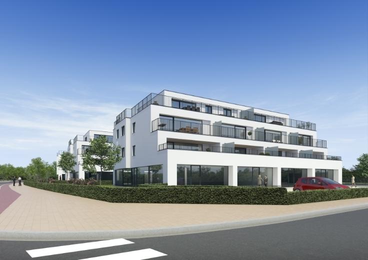Bureaux with 3frontages for salein Merelbeke auprix de 340.000€ - (3597518)