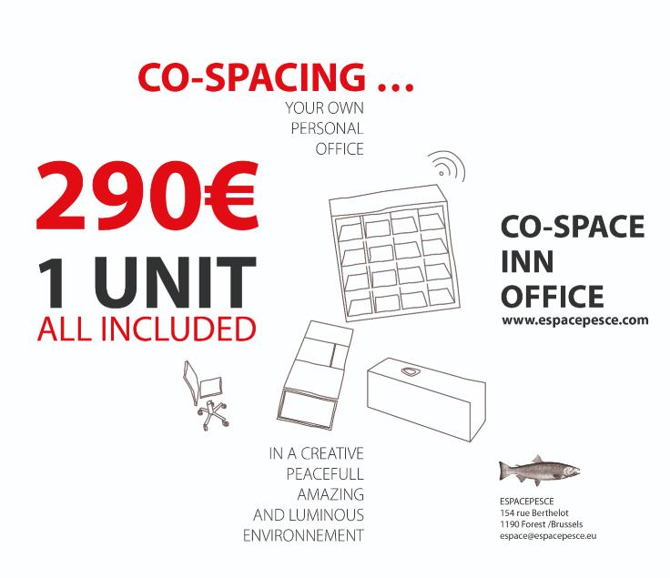 Bureaux with 1frontage for rentin Forest auprix de 2.400€ - (3845605)