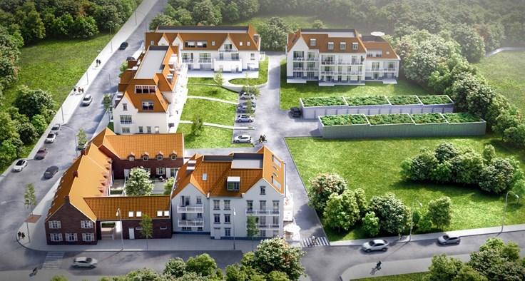 Appartement de 2façades à vendreà Haaltert auprix de 302.950€ - (3880650)