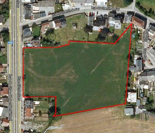 Terrain à bâtirte koop teChapelle-lez-Herlaimont voor 2.500.000€ - (3897349)
