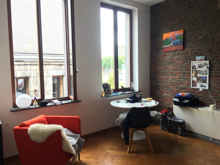 Loft de 2façades à louerà Liège auprix de 585€ - (4355789)