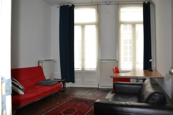 Flat/Studio van 2gevels te huurte Gand voor620 € -(4610317)