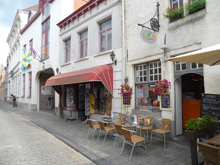 Horeca te huurte Bruges voor15.000 € -(4614121)