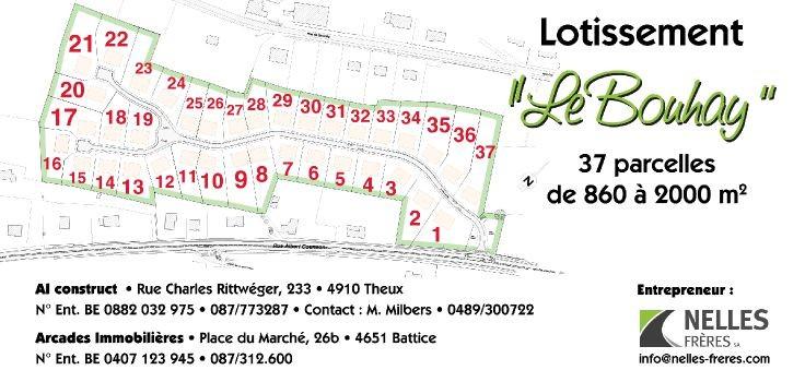 Terrain à bâtirte koop teStavelot voor 58.000€ - (4671821)