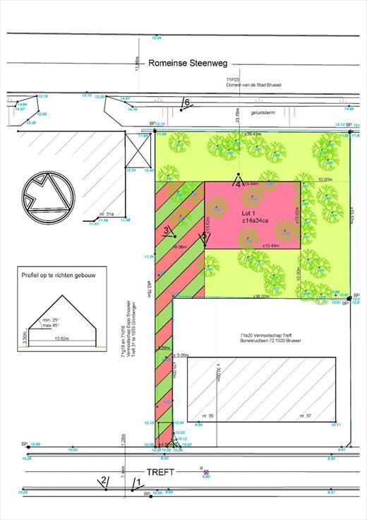 Terrain à bâtirte koop teStrombeek-Bever voor 295.000€ - (4696209)