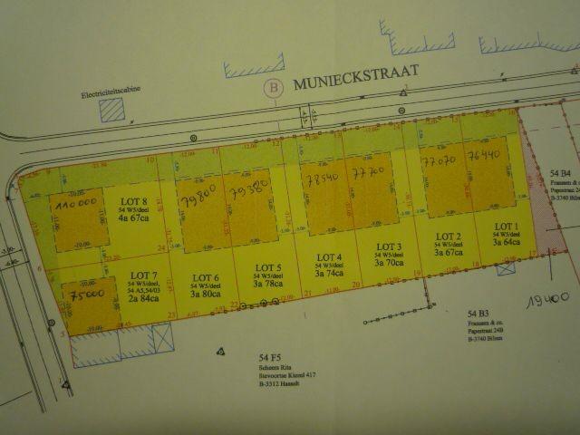 Terrain à bâtirà vendre àGrote-Spouwen au prixde 110.000 €- (4791055)
