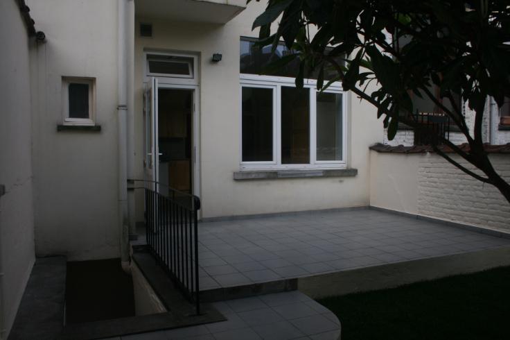 Rez de chauss e louer etterbeek location cp 1040 - Garage a louer etterbeek ...