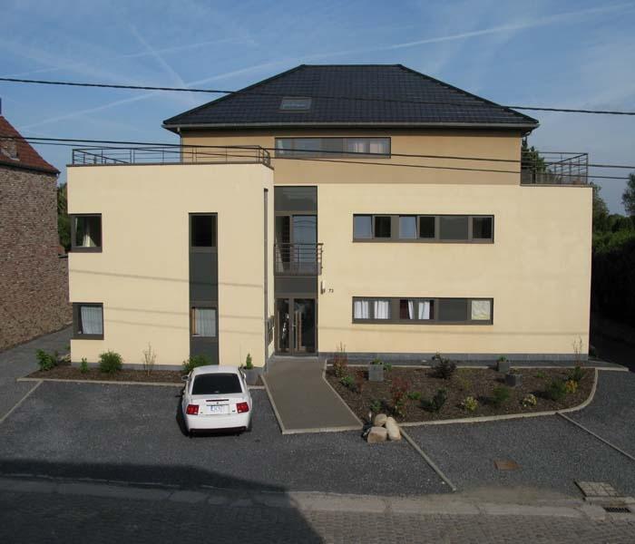 Appartement de 3façades à louerà Ghlin auprix de 770€ - (4951832)