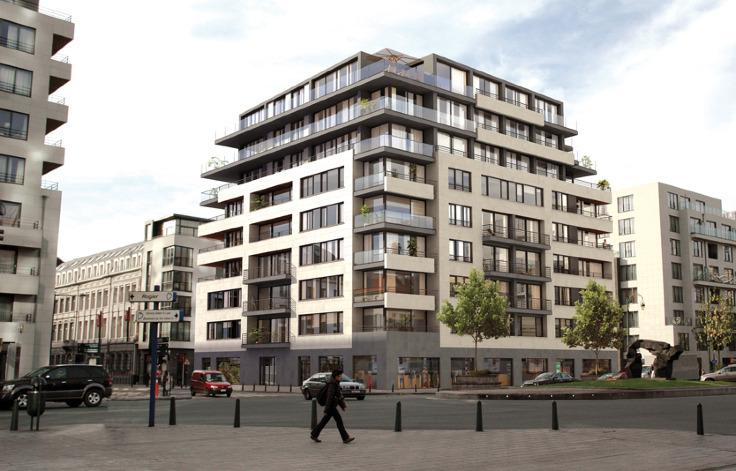 Penthouse van 4gevels te huurte Brussel -Stad voor 1.950€ - (5533953)