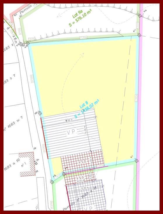 Terrain à bâtirà vendre àAmay au prixde 65.000 €- (5610242)