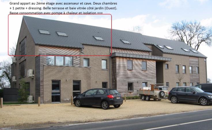 Appartement de 2façades à louerà Fosses-la-Ville auprix de 850€ - (5643247)