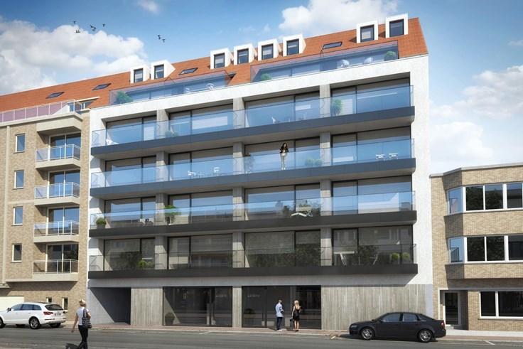 Projet immobilier àvendre à Knokkeau prix de595.000 à 760.000€ - (5643529)
