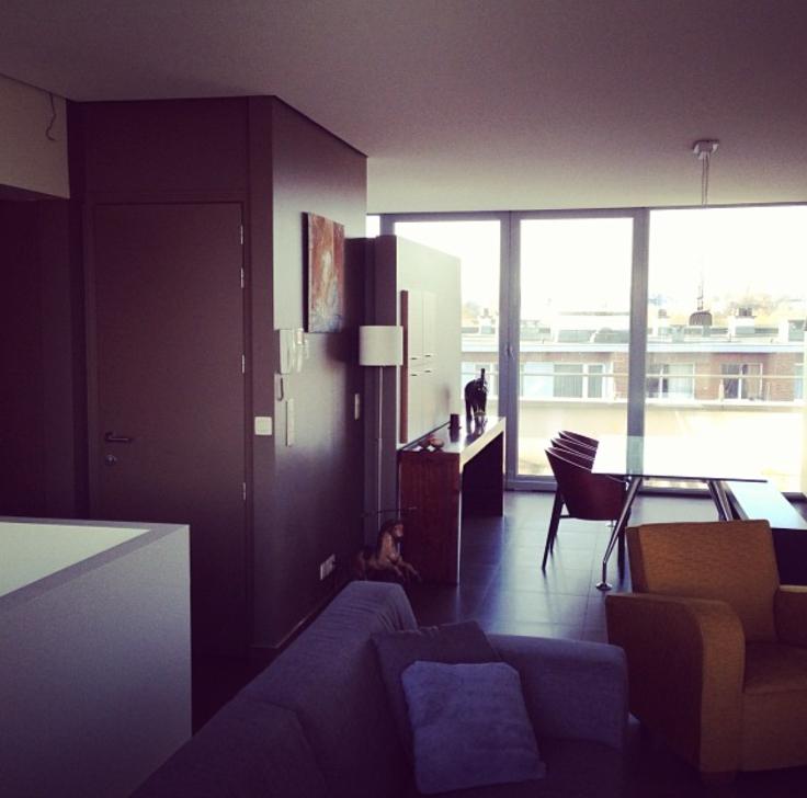 Duplex de 2façades à louerà Molenbeek-St-Jean auprix de 1.100€ - (5708552)
