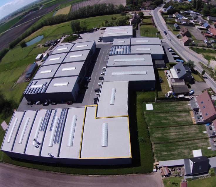 Immeuble industriel àvendre à Gistelau prix de265.000 € -(5741067)