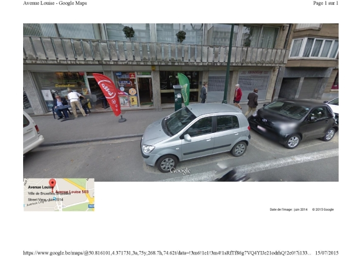 Commerce de 1façade à louerà Ixelles auprix de 18.000€ - (5847911)
