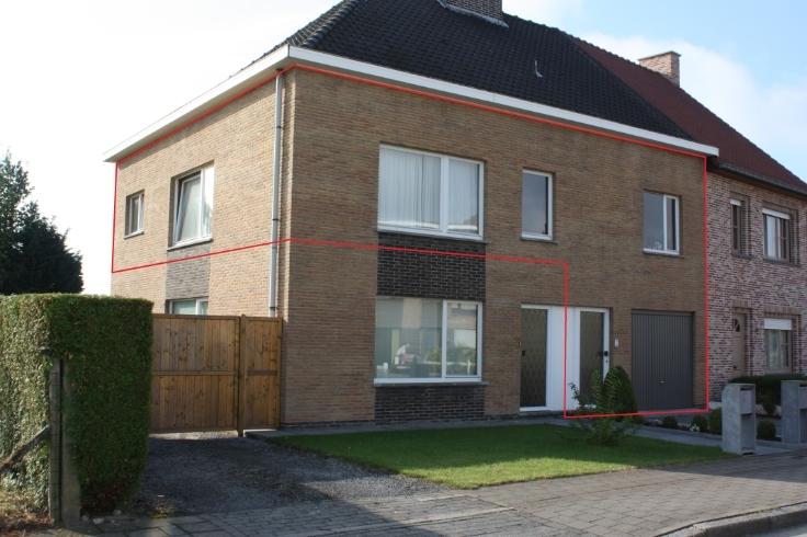 Appartement van 3gevels te huurte Merelbeke voor735 € -(5875607)