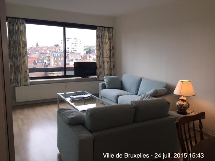 Appartement de 1façade à louerà Bruxelles villeau prix de750 € -(5921731)