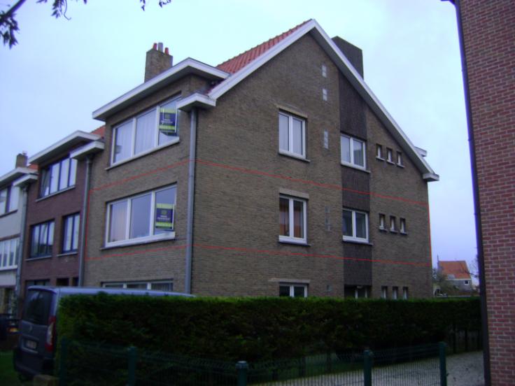Appartement de 3façades à louerà Blankenberge auprix de 670€ - (5993741)