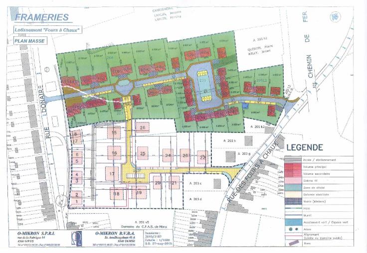 Terrain à bâtirà vendre àFrameries au prixde 43.700 €- (5996865)