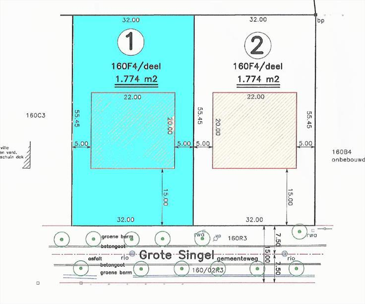 Terrain à bâtirte koop teSchoten voor 375.000€ - (6014732)