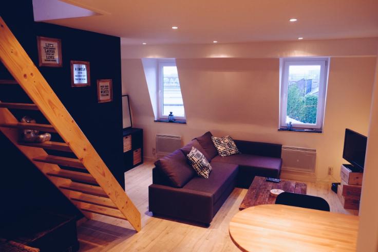 Duplex de 2façades à louerà Forest auprix de 650€ - (6083513)