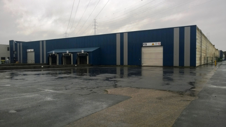 Industrieel gebouw for