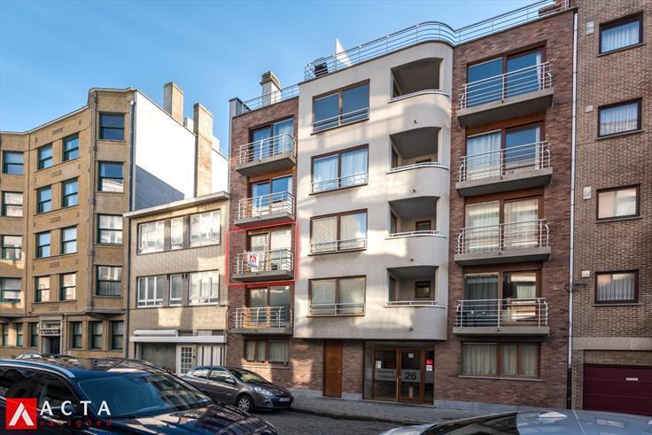 Appartement de 2façades à vendreà Ostende auprix de 139.900€ - (6170229)