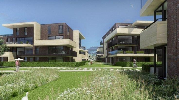 The mills prachtig nieuwbouw appartement met garagebox for Appartement te koop edegem