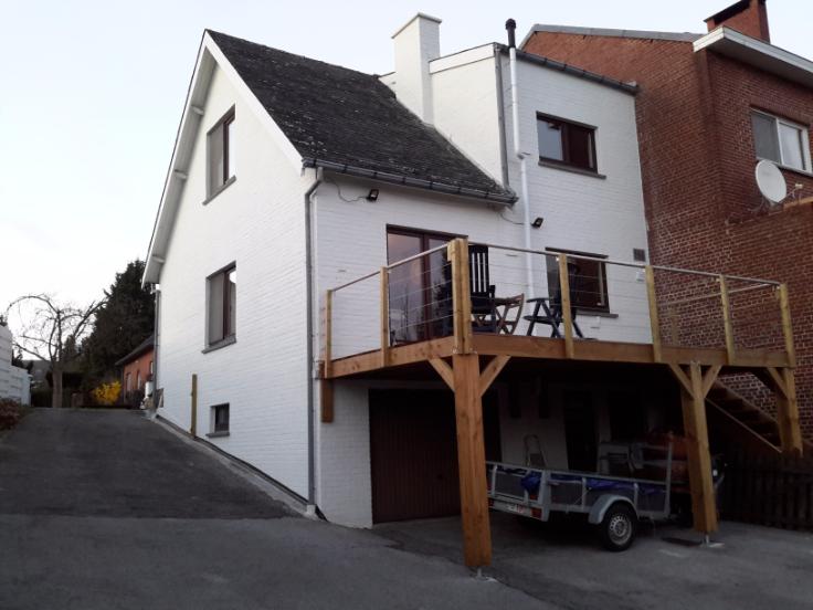 Maison van 3gevels te huurte St-Servais voor875 € -(6230934)