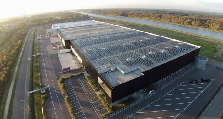 Immeuble industriel àlouer à Herentalsau prix de26.792 € -(6248226)