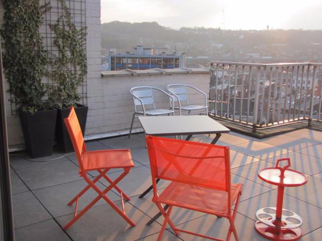 Penthouse de 4façades à louerà Liège auprix de 820€ - (6295817)