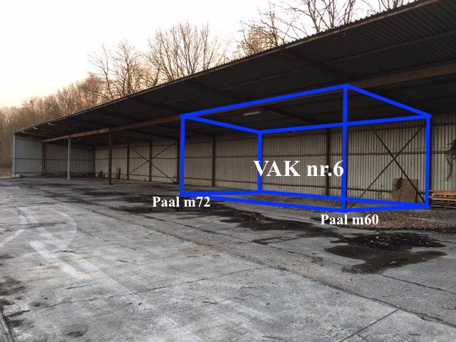 Immeuble industriel àlouer à Westmeerbeekau prix de6.000 € -(6315931)