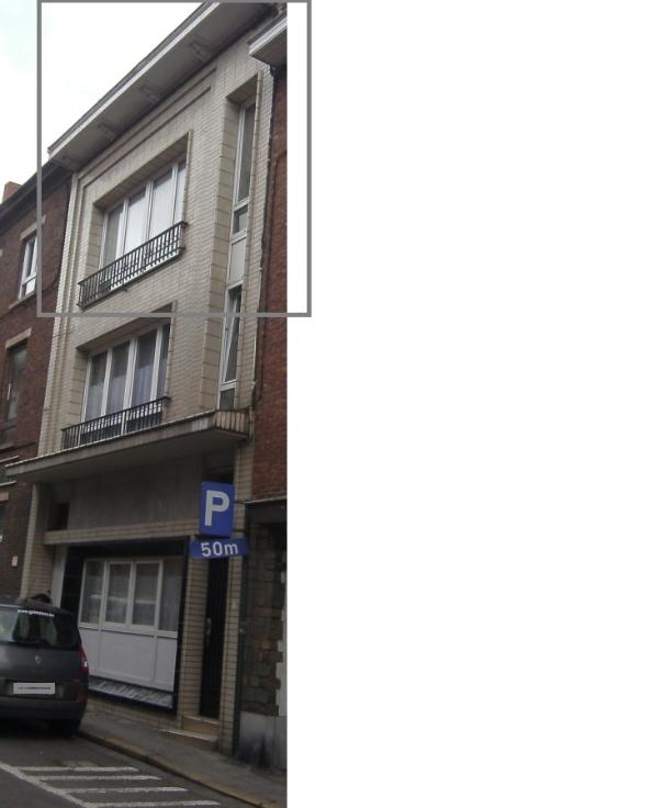 Appartement van 2gevels te huurte Châtelet voor475 € -(6323771)