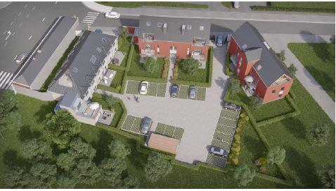 Projet immobilier àvendre à Obourgau prix de155.000 à 205.000€ - (6358013)