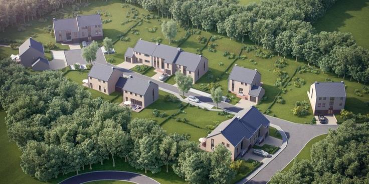 Projet immobilier de4 façades àvendre à Sprimontau prix de238.700 à 305.500€ - (6377544)