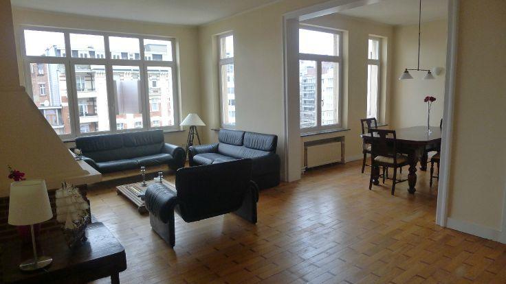 Appartement de 2façades à louerà Ixelles auprix de 1.250€ - (6426808)