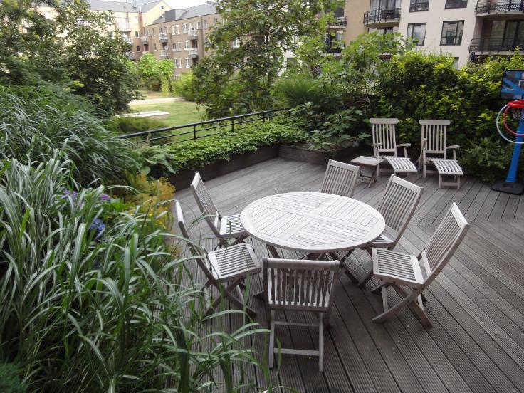 Appartement moderne avec grande terras bruxelles centre for Appartement a louer avec jardin bruxelles