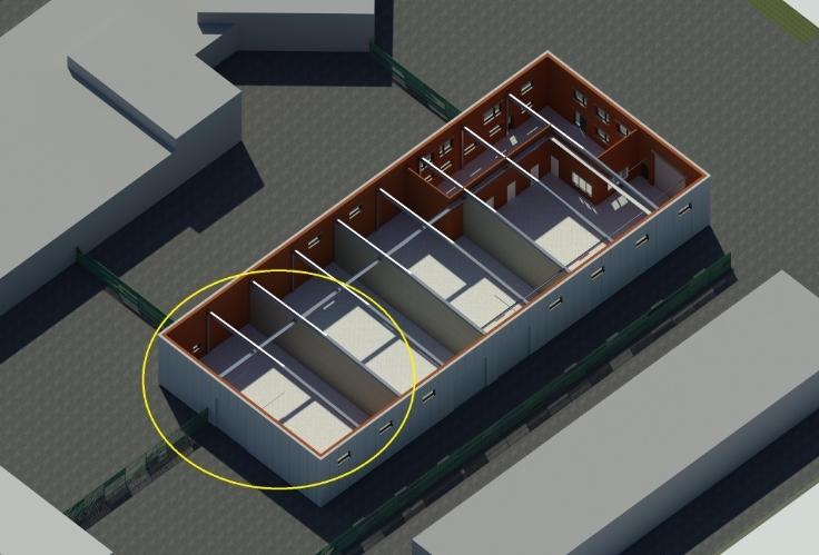 Commerce de 3façades à louerà Mol auprix de 15.000€ - (6503668)