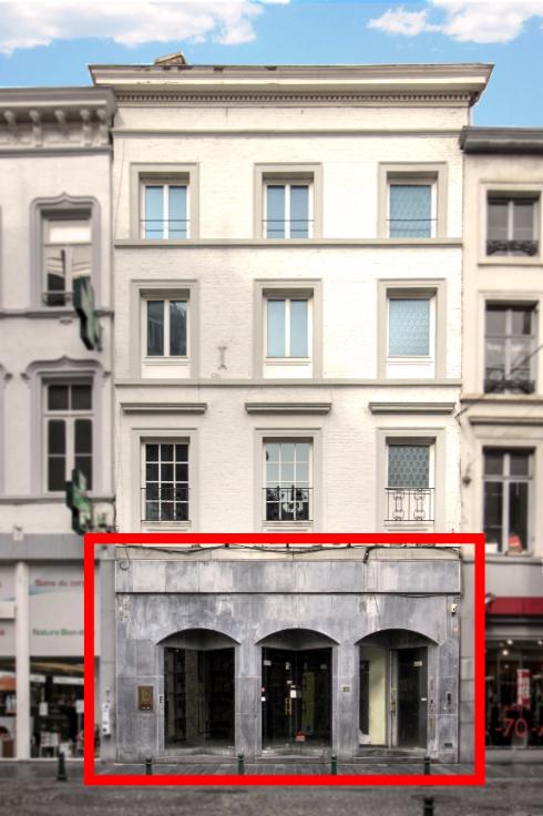 Commerce van 1gevel te huurte Liège voor50.400 € -(6519533)