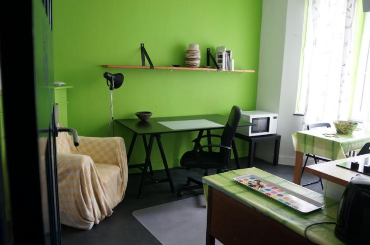 Flat/Studio de 1façade à louerà Auderghem auprix de 450€ - (6526397)