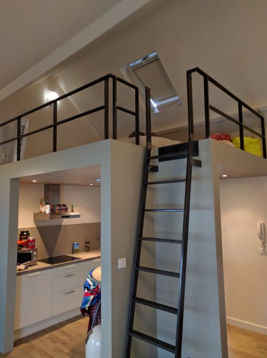 Appartement de 2façades à louerà Gand auprix de 580€ - (6536360)