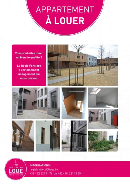 Appartement te huurte Liège voor440 € -(6537648)