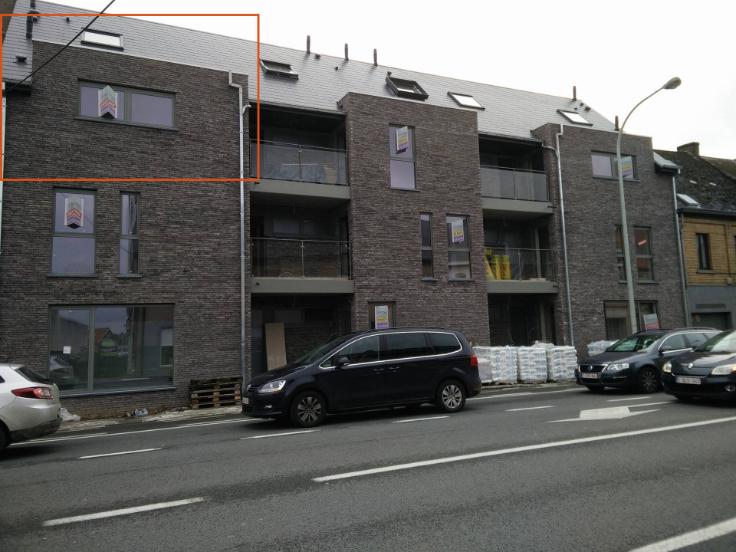 Duplex de 1façade à louerà Meerbeke auprix de 750€ - (6546911)
