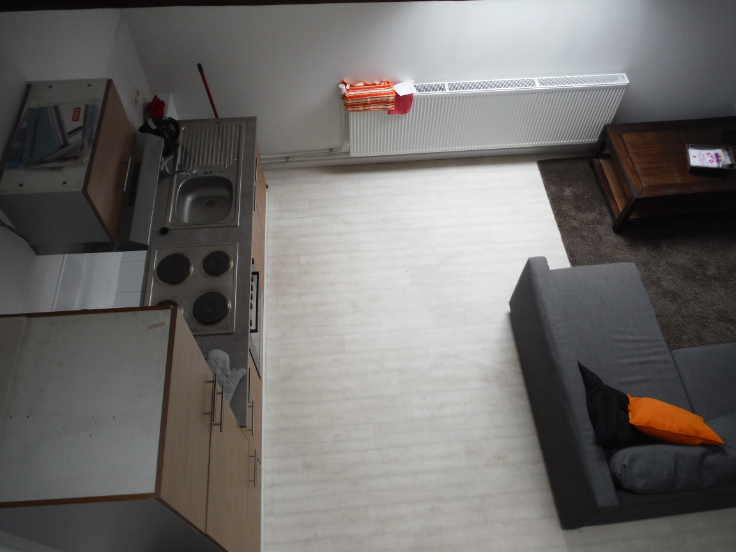 Appartement de 2façades à louerà Bruxelles villeau prix de650 € -(6562224)