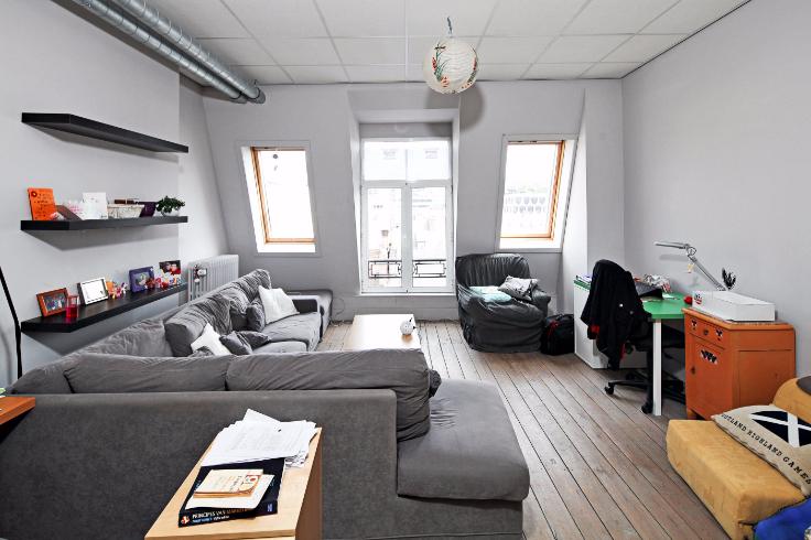 Appartement te huurte Bruxelles villevoor 680 €- (6569621)