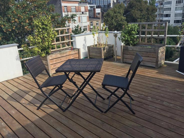 Penthouse te huurte Ixelles voor1.250 € -(6570889)