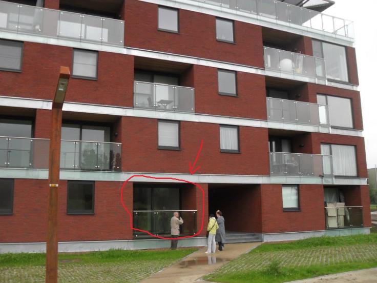 Appartement with 3frontages for rentin Vilvorde auprix de 650€ - (6576618)
