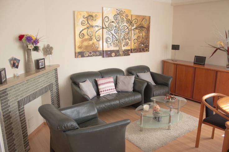 Appartement van 2gevels te huurte Evere voor950 € -(6581370)